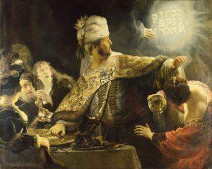 3 Rembrandt-Belsazar knjiga o danielu